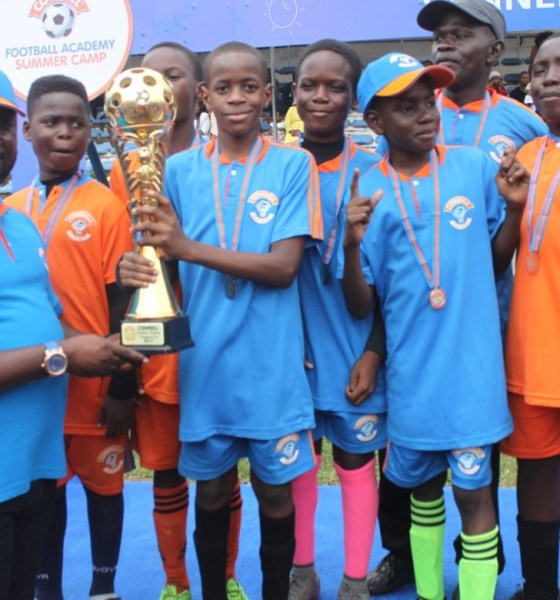 Excitement as Cowbell Milk Resurrects Samuel Okwaraji in Lagos