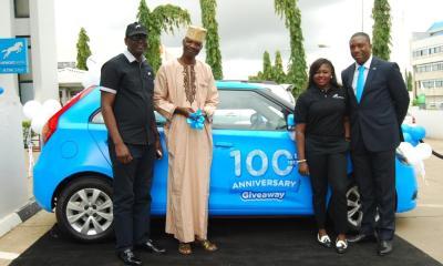 Customer Wins Brand New Car in Union Bank 100th Anniversary Promo