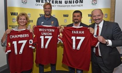 Western Union Partners Liverpool FC on Money Transfer