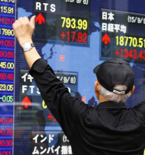 Japanese Shares Fall as Australian Equities Rise
