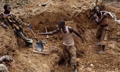 Illegal mining miners