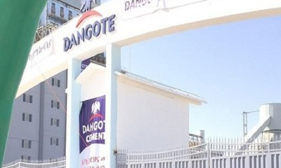 Dangote Cement shares
