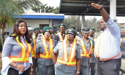 PHOTO NEWS: Customs Visits Nigerian Breweries Lagos Factory