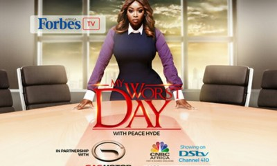 Atedo Peterside Takes Hot Seat on Forbes Africa's My Worst Day with Peace Hyde