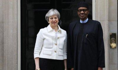 "Theresa May Applauds Buhari's ""Successful Business Reform Agenda"" in Nigeria"