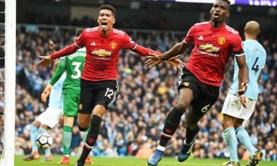 Pogba's Brace in 98 Seconds Buoys United Comeback Win at Etihad