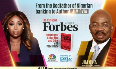 VIDEO: Jim Ovia Talks About New Book 'Africa Rise & Shine' on Forbes