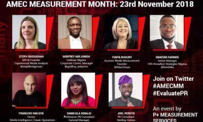 P+ Measurement Services Hosts AMEC Measurement Month in Nigeria