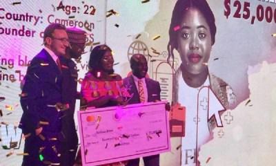 22-Year-Old Melissa Bime Wins 2018 Anzisha Prize Awards