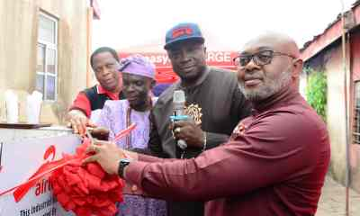 Applause as Airtel Donates Industrial Borehole to Lagos Community