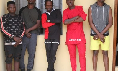 EFCC Arrests Two Nigerian Artistes Naira Marley, Zlatan Ibile for Fraud