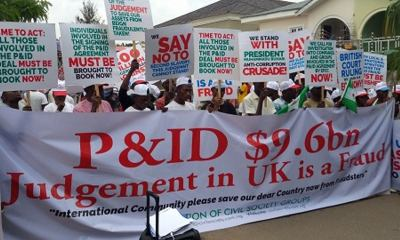 Protesters Describe $9.6bn Judgment Against Nigeria as Fraud