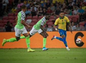 Nigeria Brazil Friendly in Singapore
