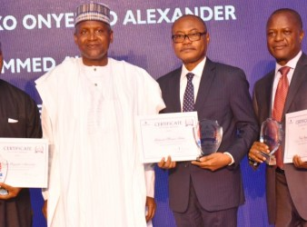Dangote Long Service Award