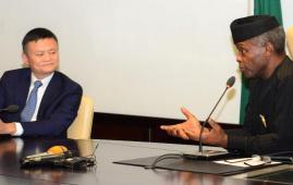 VP Osinbajo Jack Ma