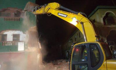 LASEMA demolish bamgbose street