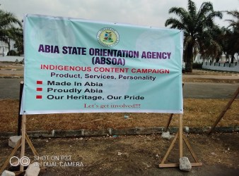 Abia Indigenous Content Campaign