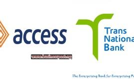 Access Bank Transnational bank TNB