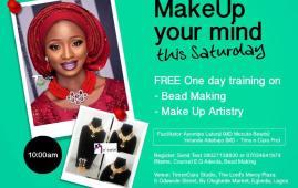 start make-up business Tims n Cara