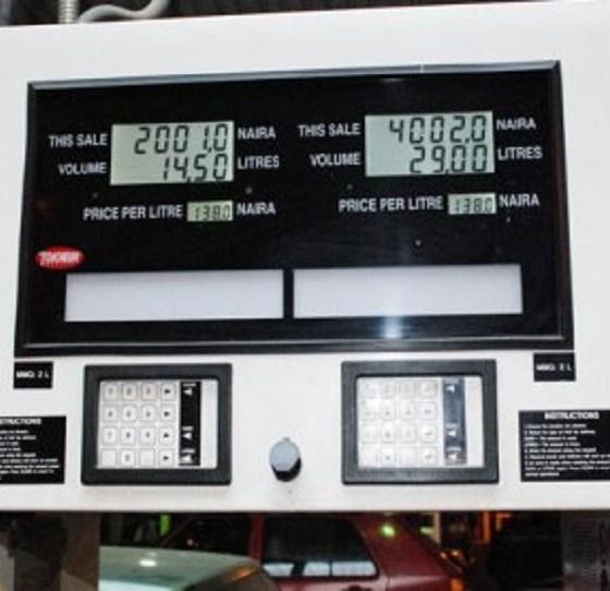 petrol pump price