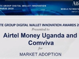 Aite Award Airtel Uganda Comviva