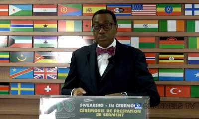 Akinwumi Adesina Sworn-In