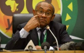 Suspends CAF President