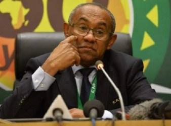 Suspends CAF President