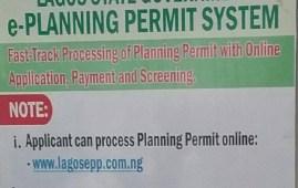 Planning Permit Process Lagos