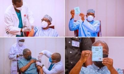 Buhari Osinbajo Vaccine