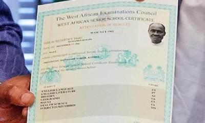 WAEC Certificate Collection