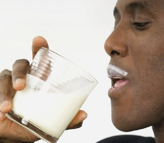 consumption of milk