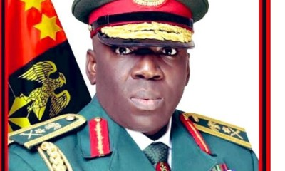 Chief of Army Staff Ibrahim Attahiru