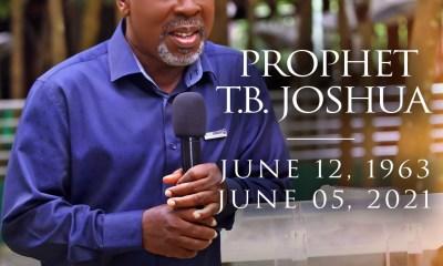 TB Joshua Dies