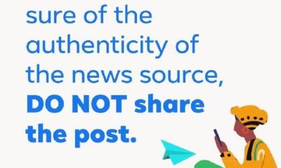 #NoFalseNewsZone