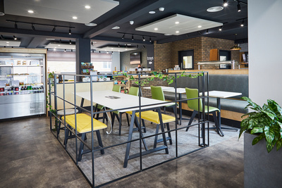 Ibstock Brick Food Factory by Blueprint Interiors