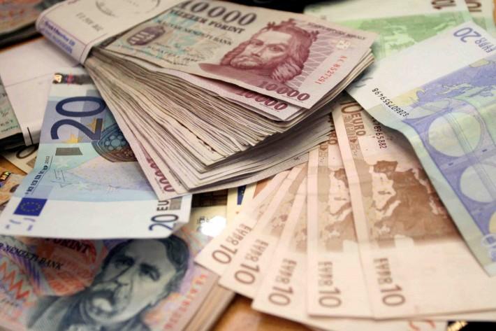 Forint és euró fordítási díjak...