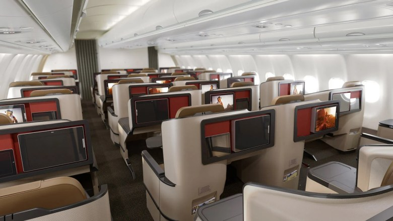 Image result for south african airways new business class