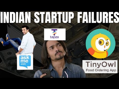 5 Famous Indian Startups That Failed (Worst Startup Failure In India) #india