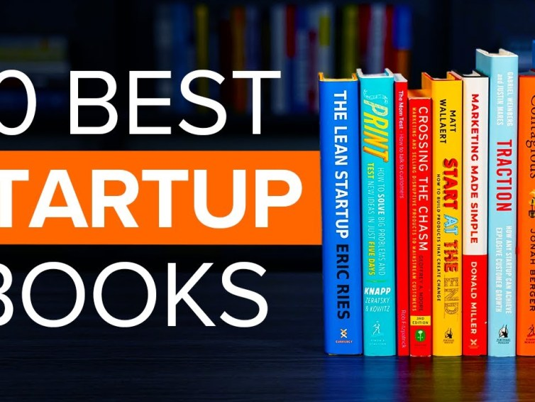 The Top 10 Best Startup Books For Founders To Read in 2021