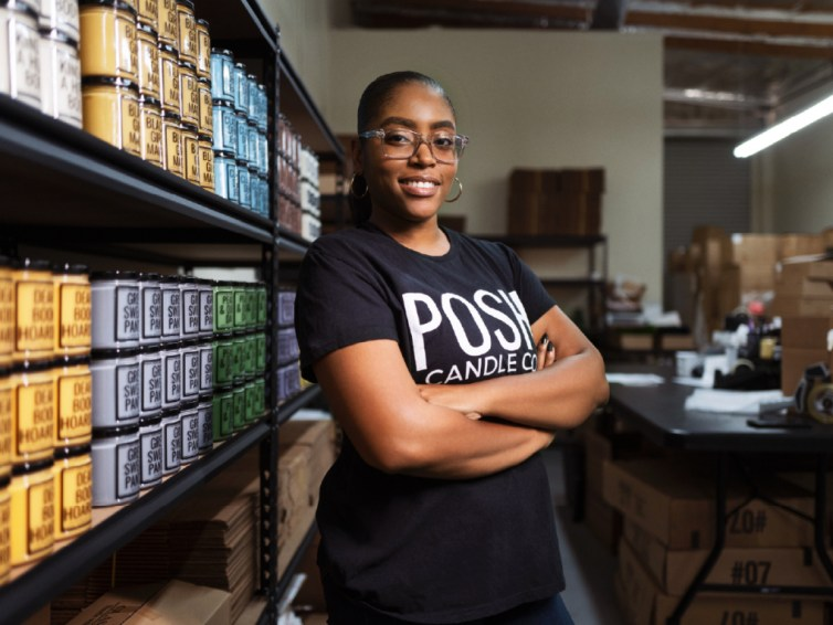 This woman entrepreneur is building a business — and community — with technology