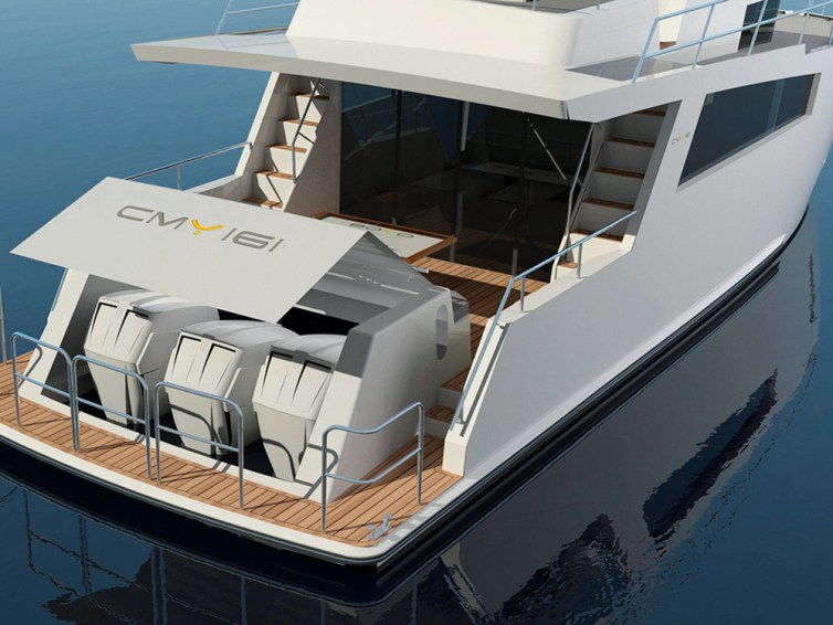 Compact Mega Yachts: Finnish start-up aiming big with 53ft outboard-powered debut