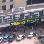 Tuskys Pioneer, Adams Archade Branches Shut Down