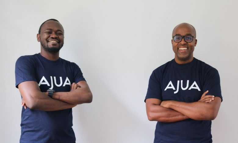 Ajua Founder and CEO, Kenfield Griffith (right) and Teddy Ogallo (left), Founder of WayaWaya