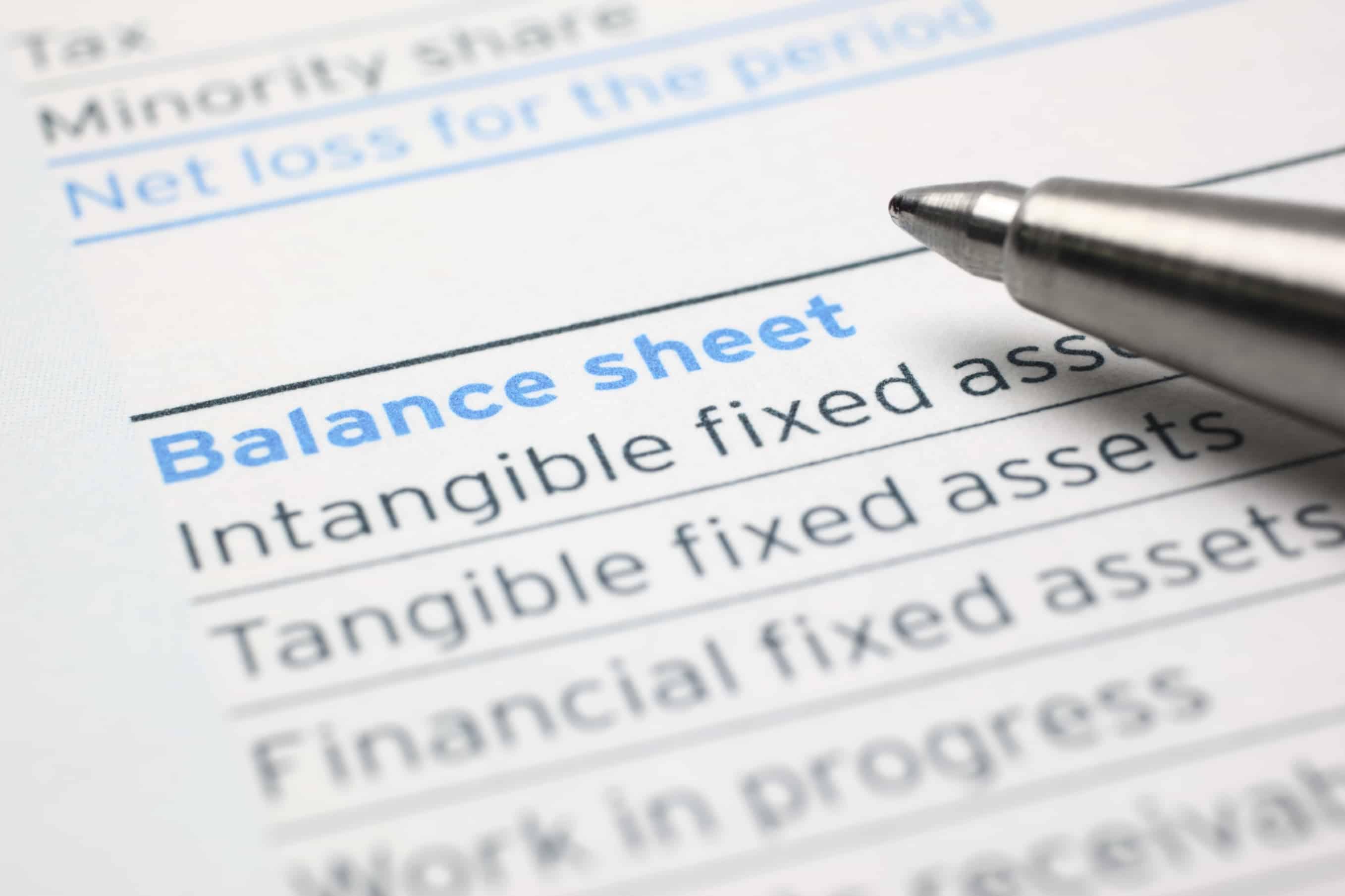 How To Create A Pro Forma Balance Sheet