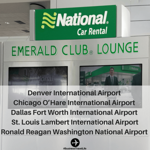 Emerald Club Lounge Business Travel Life