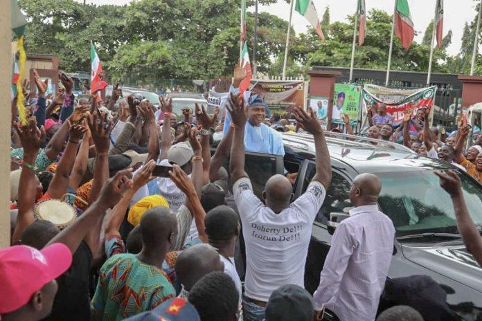 Saraki, urges Nigerians to vote for visionary leaders