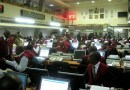 Stock market records highest gain in three months