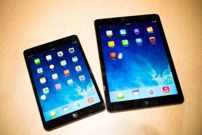 Apple launches iPad Air and Mini