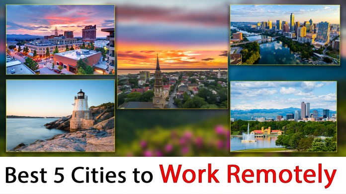 best cities to work remotely